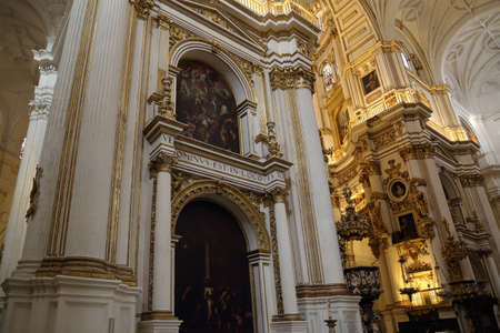 real renaissance: Exquisite Interior decorations of Granada Royal Cathedral