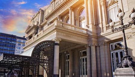 Buenos Aires, famous Colon Theater (Teatro Colon) Editorial