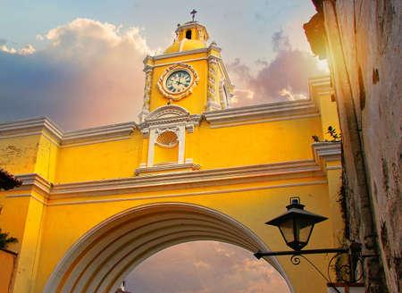 Antigua streets, Semana Santa