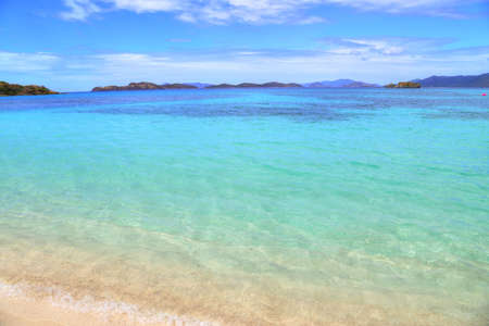 sapphire beach on st thomas island stock photo picture and royalty