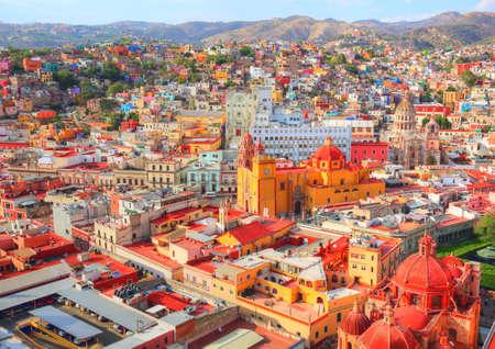 Guanajuato, scenic city lookout