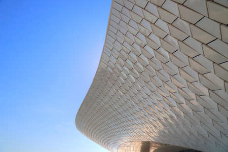 LISBON, PORTUGAL-OCTOBER 17, 2017: Famous MAAT Museum in Lisbon