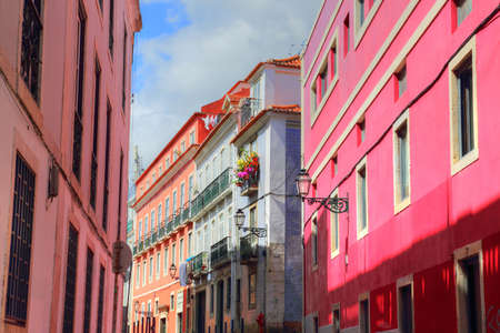 Colorful Streets of Lisbon