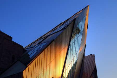 TORONTO, CANADA-JUNE 5, 2017: Royal Ontario Museum