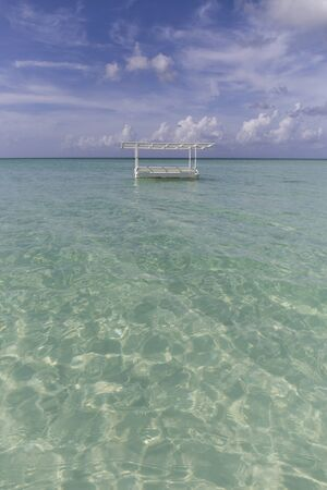 BOAT IN THE BEACH 免版税图像