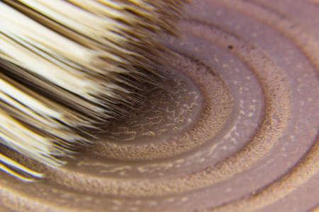 deatil: Deatil of a makeup brush