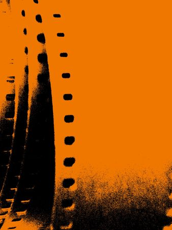 motion picture: Grungy film strip 2