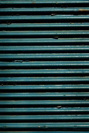 Blue shutter door Stock Photo - 7714689