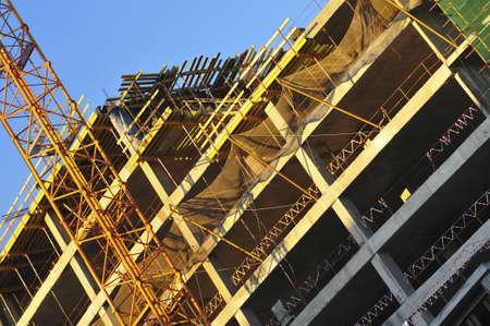 Building crisis Stock Photo