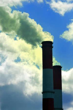 contamination of air