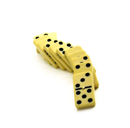 domino snake Stock Photo
