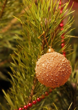 Christmas-tree decorations. Stock Photo