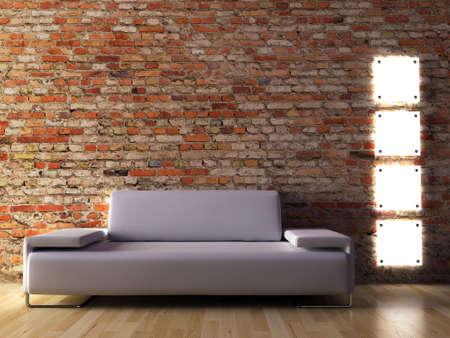 The image of a modern interior Reklamní fotografie