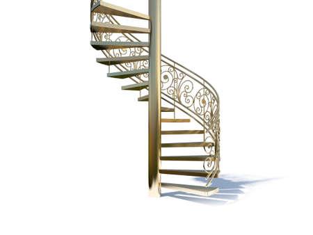 upward movements: render stairs going to upward