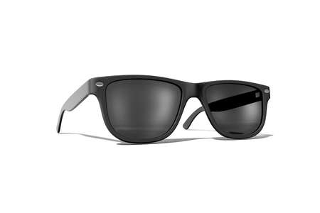 sun protection: Sun glasses isolated over the white background