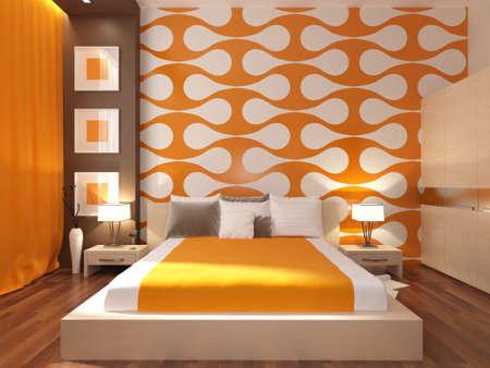Interior design series: 3D interior Stok Fotoğraf - 41308896