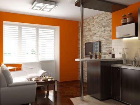 Interieur-Design-Serie: 3D Interior Lizenzfreie Fotos, Bilder Und ...