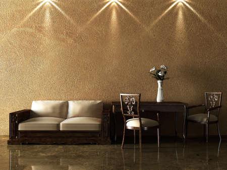 Interior design series: 3D interior
