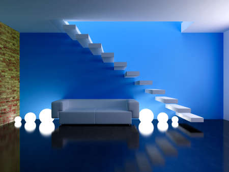 Interior design series: 3D interior