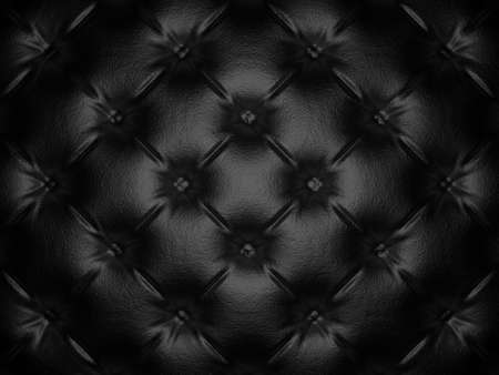 buttoned: Buttoned luxury leather pattern. Useful as luxury pattern. 3D render Stock Photo