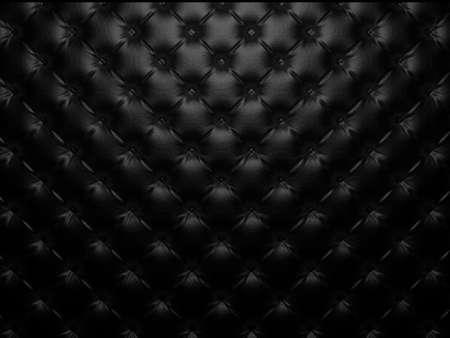ボタンをかけられた高級レザー パターン。豪華なパターンとして便利です。3 D のレンダリング 写真素材