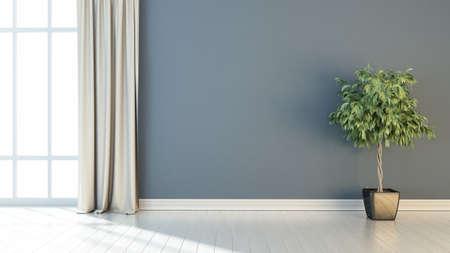 Helles Interieur im modernen Stil. 3D übertragen