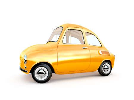 cartoon car 3D rendering Stok Fotoğraf