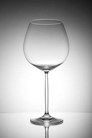 Beautiful transparent glass Stock Photo