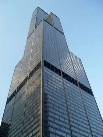 the sears tower: The Sears Tower, Chicago Illinois