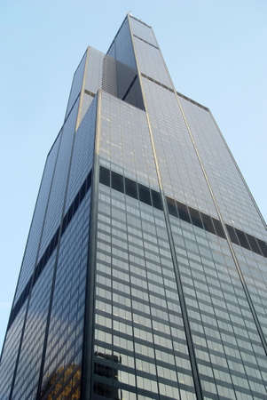 the sears tower: The Sears Tower, Chicago Illinois                         Editorial