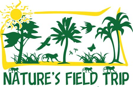 junket: this is a shirt design for a kids field trip