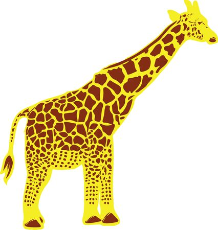 the unique giraffe