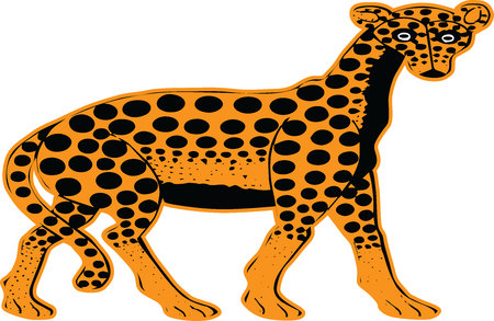 the yellow leopard
