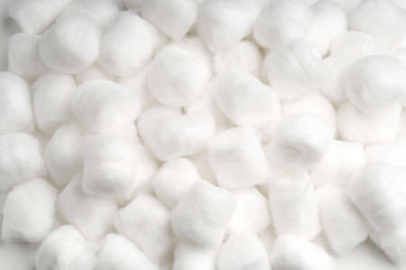 Medical Sterile Moore Medical Cotton Balls 写真素材