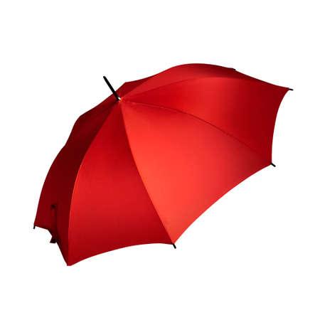 Beautiful Open Umbrella White Background
