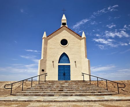 A church in the middle of the Arizona desert Stock Photo - 7634996