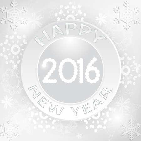 幸せな新年のグリーティング カードのデザイン  イラスト・ベクター素材