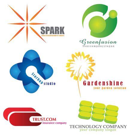 company icons Stock Vector - 12847110