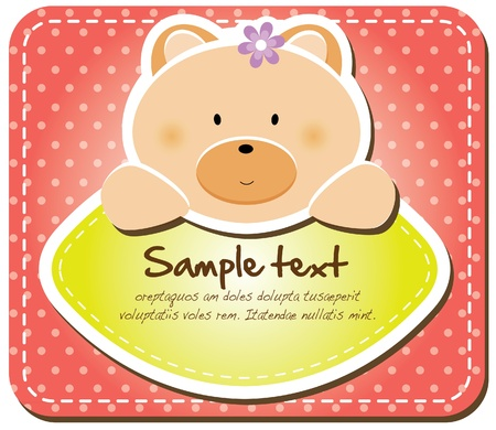 Animals frame collection  Bear version,17 animals available  Vector