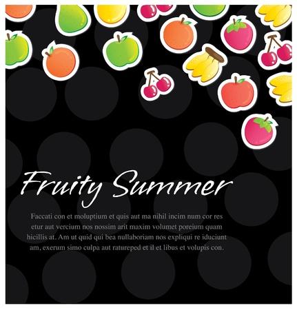 fruity background