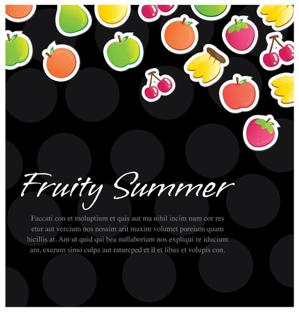 fruitful: fruity background