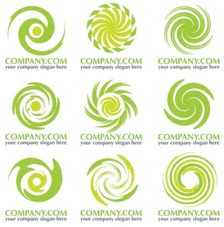 resumen de la compañía redondea el icono