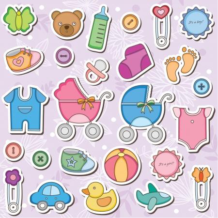 Accesorios Bebé Clip Art