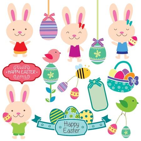 sweet easter clip art Vector