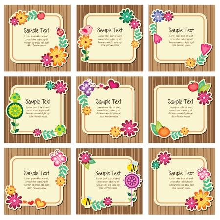 childlike: Forest nature invitation cards