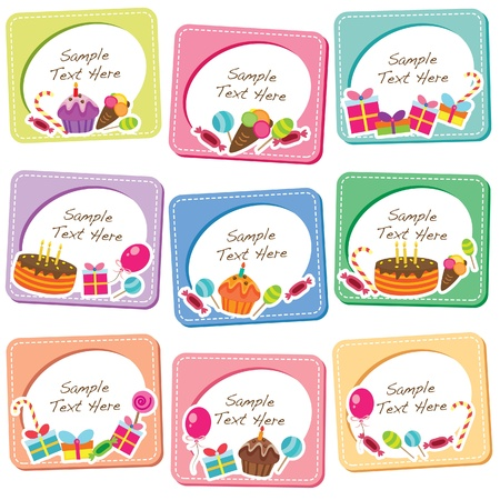 party desserts clip art Vector