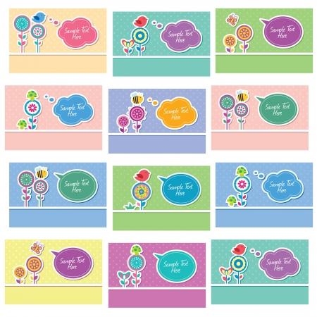 garden love layout set