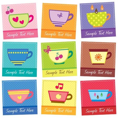cute mugs layout design