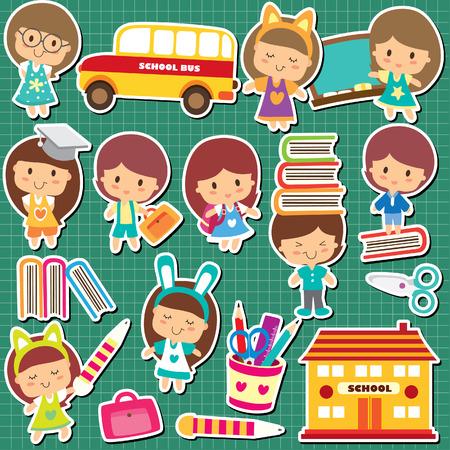 children school: school kids clip art