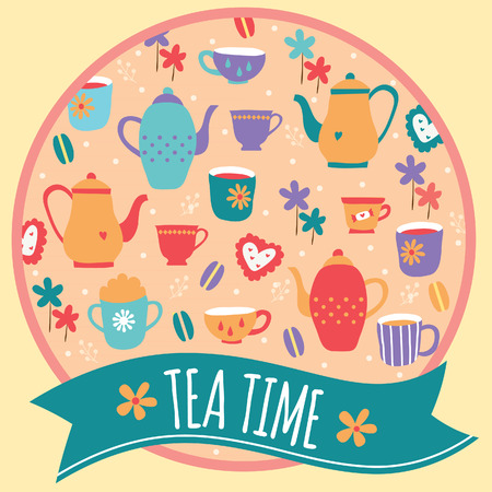 tea time layout design